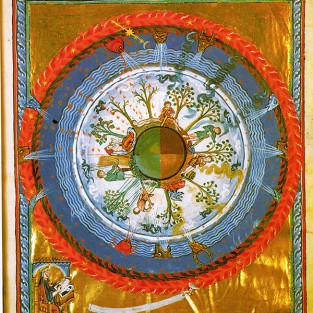 O Mundo Luminoso de Hildegard de Bingen
